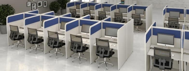 Mobiliario para telemarketing e call center Geeb Work
